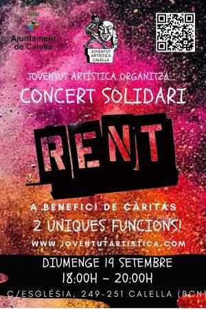 Concert Solidari RENT